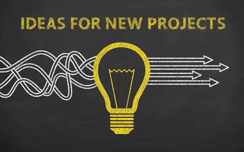 My Ideas For New Projects – What Should I Do Next?