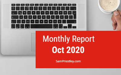 My Monthly Report – October 2020