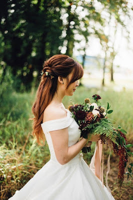 Bride Gatlinburg Wedding Photo