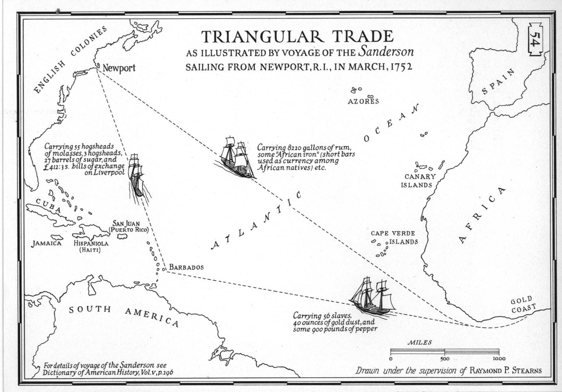 Routes Of Slave Ships