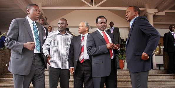 Image result for ruto and kalonzo