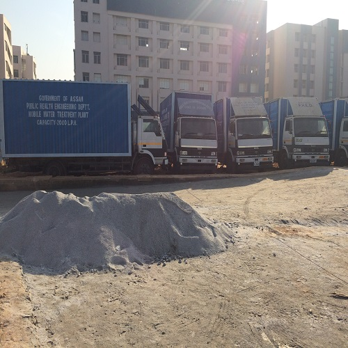 Mobile Water Treatment