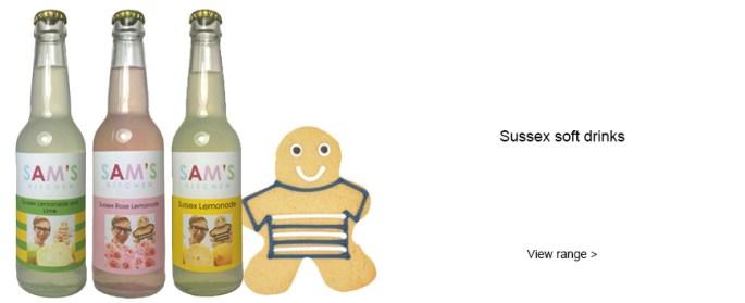 Sam's Kitchen Sussex soft drinks