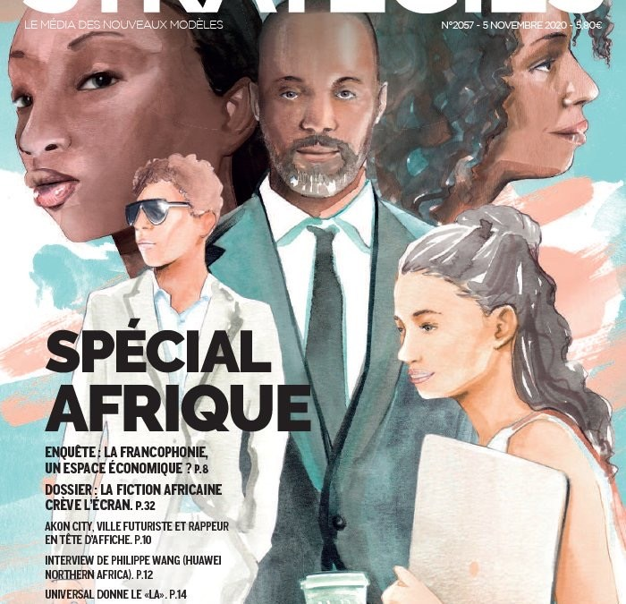 Samsa Africa dans le magazine Stratégies