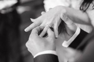 Hochzeitsring, Eheversprechen