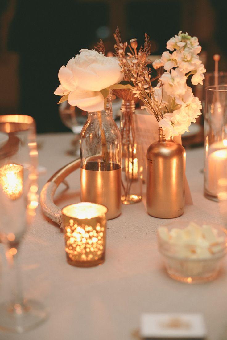 Hochzeitsdeko Kupfer