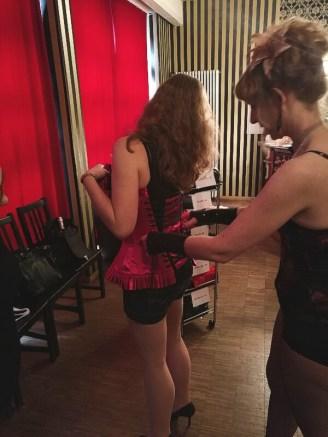 Burlesque Workshop Corsage
