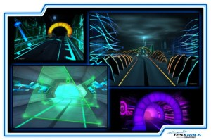 Concept Art for the New Test Track