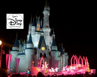 "Mickey's Very Merry Christmas Party features the ""Celebrate the Season"" Castle stage Show"