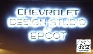 The Chevrolet Design Studio at Epcot