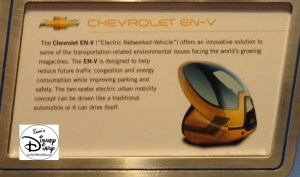 "The ""Electric Networked-Vehicle"" or EN-V, part of Test Track Queue"