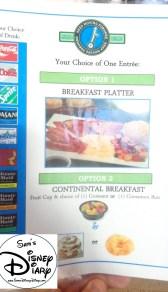 Epcot Segway Tour Breakfast Menu