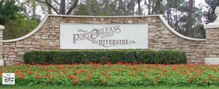 Port Orleans Riverside Marquee