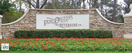 Port Orleans Riverside Marquee