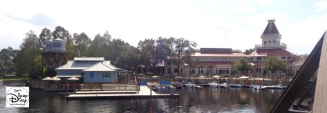 "Port Orleans Riverside Marina and ""Sassagoula Steamboat Company"""