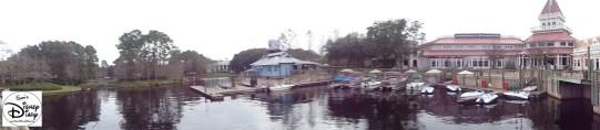 Port Orleans Riverside Marina and Sassaqoula Steamboat Company