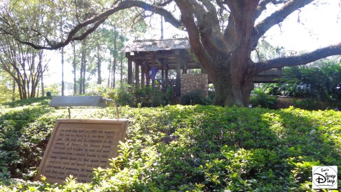 "Port Orleans Riverside: Ol Man Island features the ""Majestic Live Oak"""