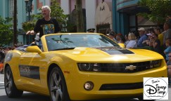 """""""Legends of the Force"""" Motorcade and Celebrity Welcome. Tom Kane The Voice Behind Yoda from the Clone Wars"""