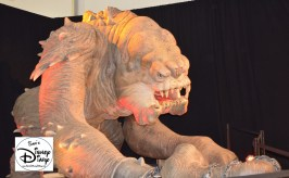 Photo op with a Rancor, can't say I've had that opportunity before. Star Wars Weekend 2013