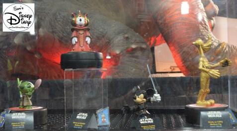 Big Figs on display in Darth's Mall