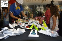 Darth's Mall features a Lego Star Wars creation center.... Celebrating 30 years of Return of the Jedi.