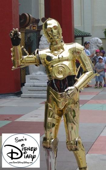 C3PO - Star Wars Weekend 2013