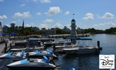 Bay Side Marina, features boat and Bicycle rentals. This is also the start of the Pirate Adventure Cruise and Illuminationis Fireworks Cruise.