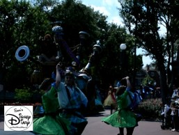 With over 100 performers, there are lots of things to watch during the parade.