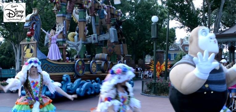 The Tangled Unit, Festival of Fantasy Parade.