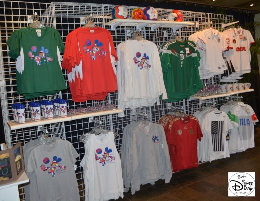 World Cup Merchandise Selection at the Odyssey