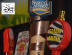 Draft Beer Selection at the Odyssey during FIFA Matches, Samuel Adams Seasonal (Summer), Florida Lager, Racer 5 and Safari Amber