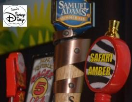 Draft Beer Selection at the Odyssey during FIFA Matches, Samuel Adams Seasonal (Summer), Florida Lager, Racer 5 and Safari Amber