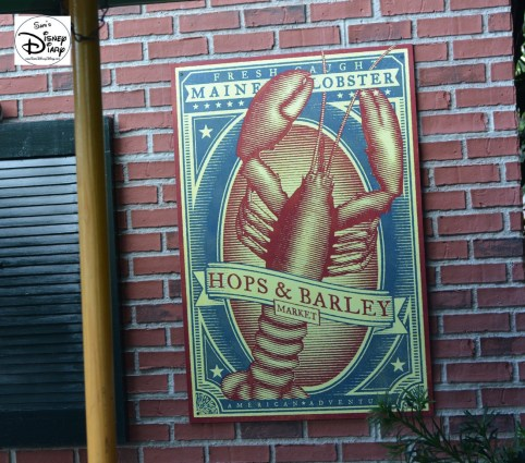 Epcot International Food and Wine Festival 2013 - Hops & Barley - Home of the Lobster Roll and Samuel Adams
