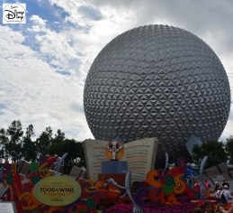 Epcot International Food and Wine Festival 2013 - Entrance Topiary