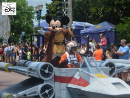 Legends of the Force Celebrity Motorcade.