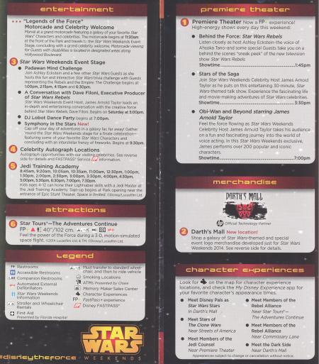Star Wars Weekend 2014 - Weekend 5 Map