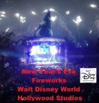 New Years Eve Fireworks at Hollywood Studios