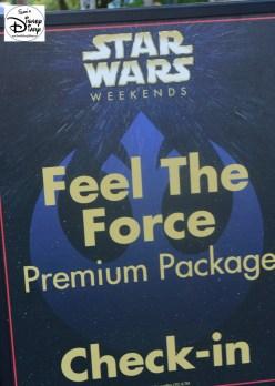 "Star Wars Weekend ""Fell The Force"" Premium Package"