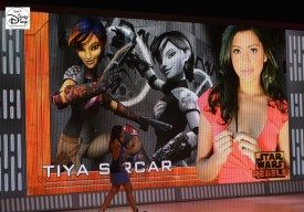 Star Wars Weekend 2015 Weekend 1 - Star Wars Rebels - Tiya Sircar the Voice of Sabine Wren #SWW2015
