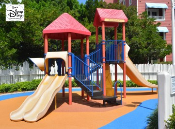 Near by kids play area