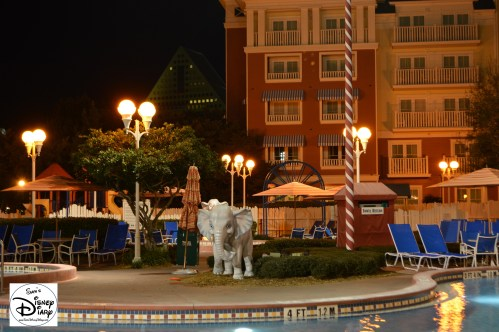 Elephants at Night - Luna Park Pool