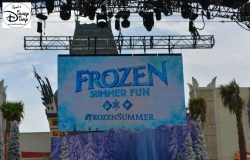 "The Hyperion Theater is the new home for ""For the First Time in Forever"" A Frozen Sing Along #FrozenSummer"
