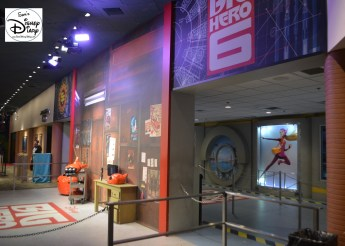 The Magic of Animation building was once home to many character meet and greats including Baymax and Hiro