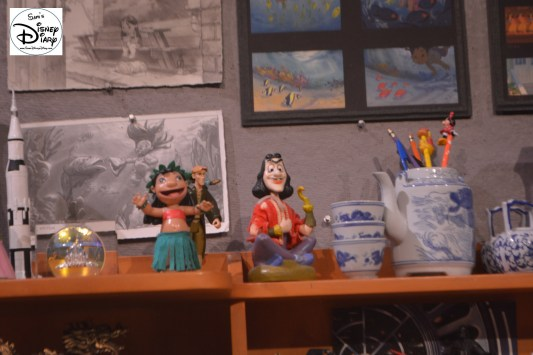 "The Animator Desk from ""Drawn to Animation"" theater - Great Detail"