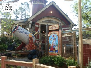 SamsDisneyDiary Episode #10 - New Fantasyland Phase #1- Storybook Circus - The Barnstormer