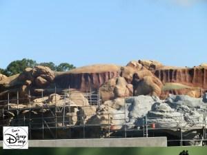 SamsDisneyDiary Episode #10 - New Fantasyland Phase #1- Rock work on the Seven Dwarfs Mine Train - February 2012