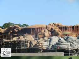 SamsDisneyDiary Episode #10 - New Fantasyland Phase #1- Rock work on the Seven Dwarfs Mine Train - February 2012