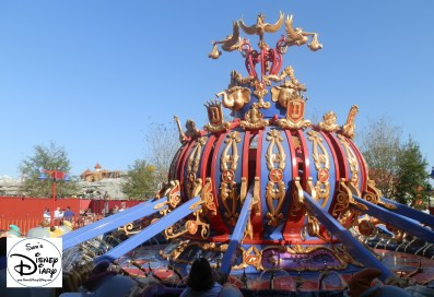 SamsDisneyDiary Episode #10 - New Fantasyland Phase #1 - Dumbo February 2012