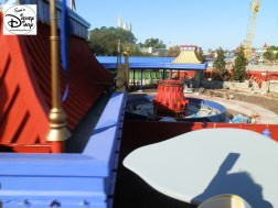 SamsDisneyDiary Episode #10 - New Fantasyland Phase #1- View from Dumbo February 2012