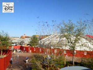 SamsDisneyDiary Episode #10 - New Fantasyland Phase #1- View from Dumbo February 2012